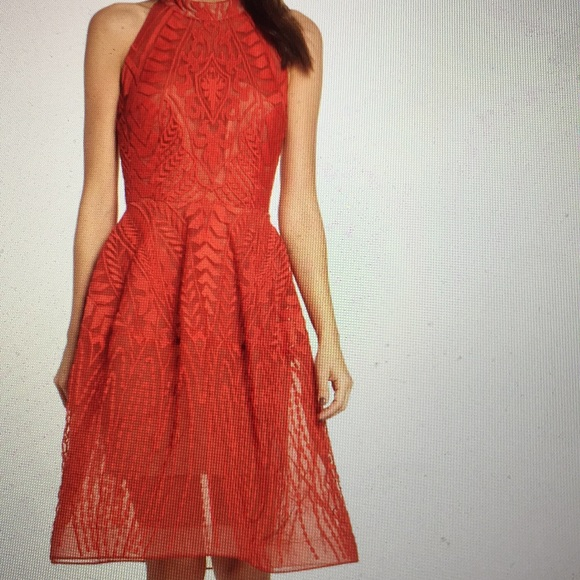 bronx and banco Dresses & Skirts - Notte Lace Fit & Flare dress